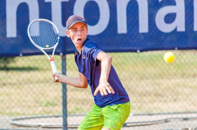 Mika Brunold entschied den Final in der Kategorie U14 für sich.