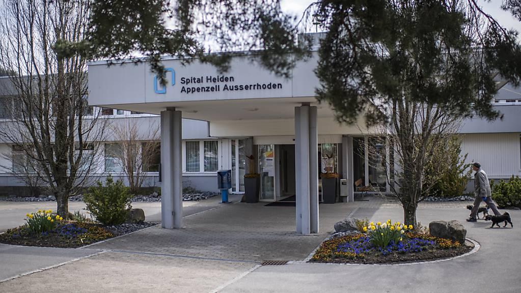 Das Spital Heiden wird Ende Jahr geschlossen. Der Ausserrhoder Spitalverbund (SVAR) sei damit aber noch nicht über dem Berg, hiess es am Montag in Speicher im Kantonsrat.
