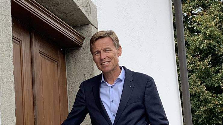 Ueli Voegeli von der SVP ist neuer Gemeindeammann von Egliswil.