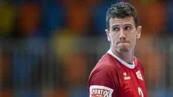 Er führt das Schweizer Team an: Handball-Star Andy Schmid.