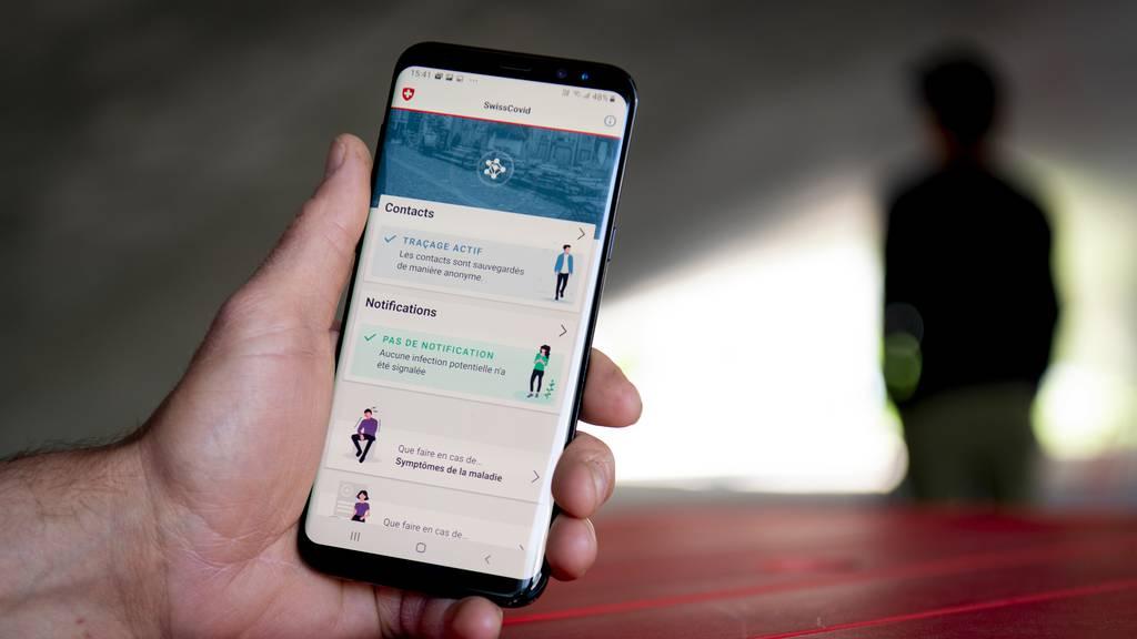 SwissCovid-App warnt oft zu spät oder überhaupt nicht