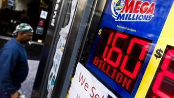 """Am Dienstag ging es bei der amerikanischen Lotterie """"Mega Millions"""" um einen Jackpot in Höhe von 1,6 Milliarden US-Dollar."""