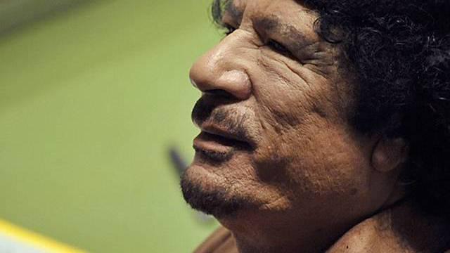 500 hübsche Italienerinnen bestellt: Muammar Gaddafi (Archiv)