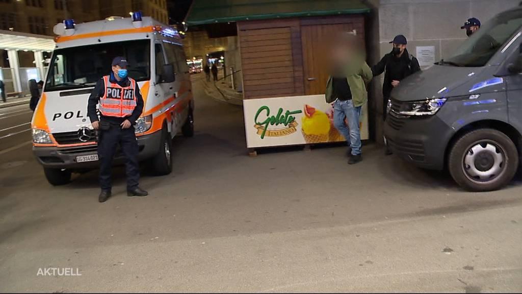 Zu Recht? Die Stadtpolizei St. Gallen griff letzte Nacht rigoros durch