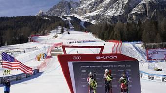 Zusammen mit Mailand ist Cortina d'Ampezzo auch Ausrichter der Olympischen Winterspiele 2026