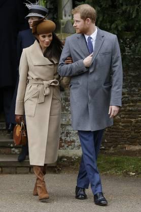 Prinz Harry und Markle wollen am 19. Mai in Windsor westlich von London heiraten.