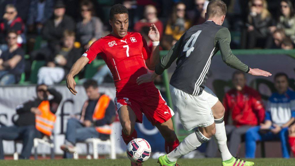 Marvin Spielmann (hier im Dress eines Schweizer Nachwuchs-Nationalteams) verstärkt ab sofort den FC Thun