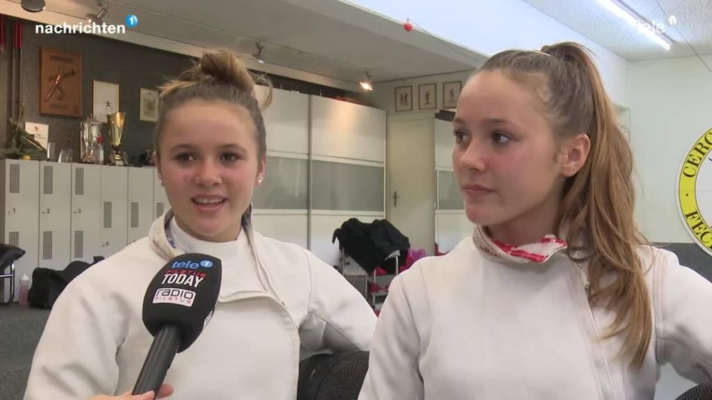 Beckenrieder Schwestern dominieren den Modernen Fünfkampf