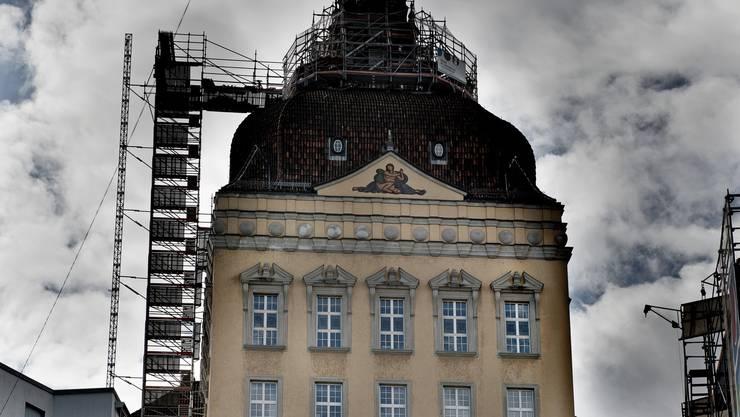 Der Suva-Hauptsitz in Luzern: Hier wird umgebaut.