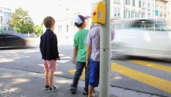 55 Kinder verunfallten letztes Jahr auf Stadtzürcher Strassen. Dies ergab die Kinderunfall-Statistik der Stadtpolizei Zürich. (Symbolbild)