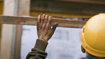 Im Baugewerbe ist das Konkursrisiko besonders hoch. (Symbolbild)