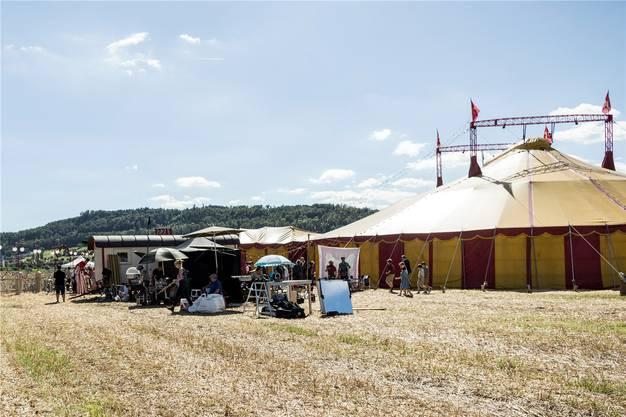 Das Barz-Areal in Bad Zurzach: In der Heimat der Comicfigur Papa Moll wird der Kinofilm hauptsächlich gedreht.