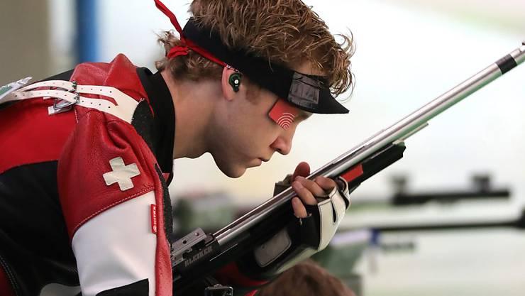 Jan Lochbihler holte an den Europameisterschaften in Baku schon vier Medaillen
