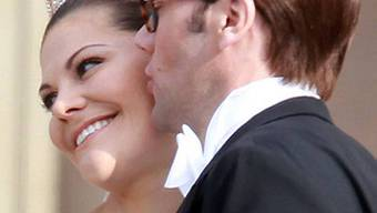 Sie sind Schwedens Traumpaar: Victoria und Daniel (Archiv)