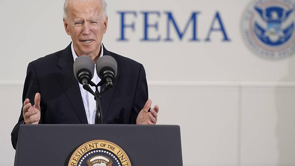 Virus-Varianten: Biden warnt vor Gefahr erneut steigender Fallzahlen