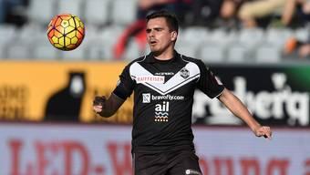 Trotz Zweijahresvertrag tritt Denis Markaj heute nicht für, sondern gegen den FC Aarau an.