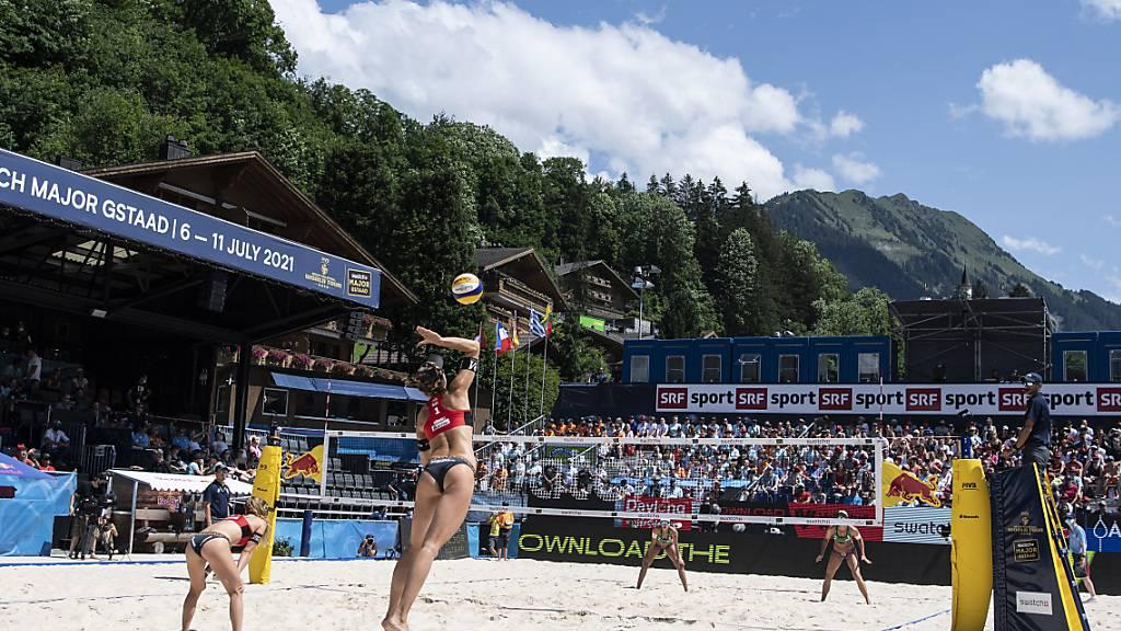 Die globale Turnierserie der Beachvolleyballer erhält ein neues Kleid - Gstaad bleibt in der höchsten Kategorie