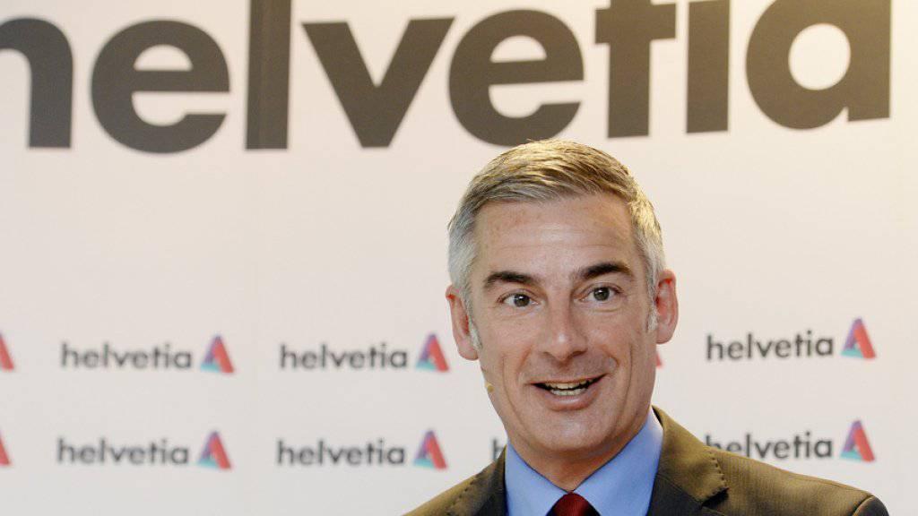 Der Chef der Helvetia-Gruppe Stefan Loacker. (Archiv)