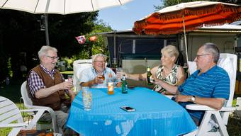 Caravan Camping Club Grenchen in Romont