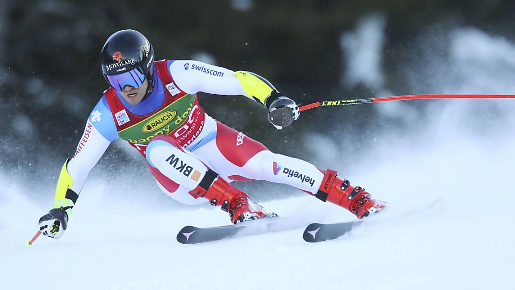Mauro Caviezel zeigte auch in Val Gardena eine ganz starke Leistung