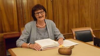 Isabelle Wipf war 26 Jahre lang als Gerichtspräsidentin am Bezirksgericht Bremgarten tätig.