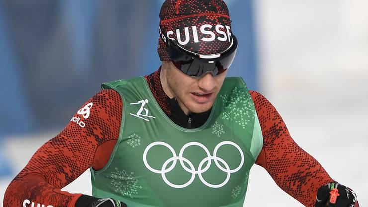 Dario Cologna macht im Teamsprint zusammen mit Roman Furger Jagd auf die nächste Olympia-Medaille