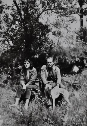 Hans und Gertrud Brunner in jüngeren Tagen.