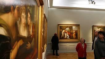 Besucher im Landesmuseum in Zürich