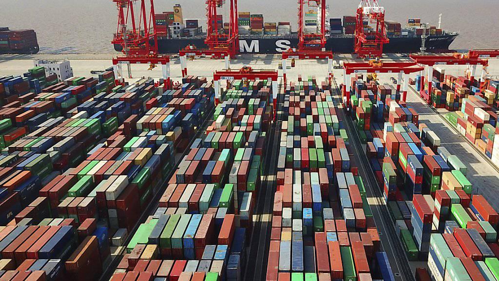 Chinas Aussenhandel ist im September trotz des Handelskrieges unerwartet stark gestiegen. (Archiv)