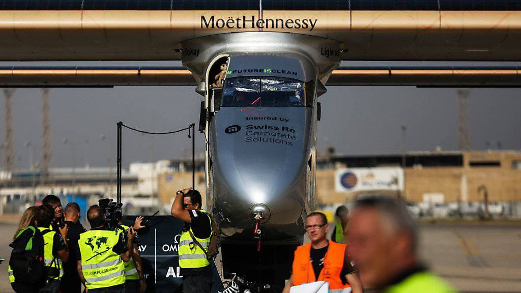 Solar Impulse verschiebt Start zur letzten Etappe