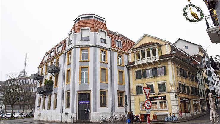 Die Alte Handelsbank Solothurn, wie sie sich heute präsentiert. Michael Hug
