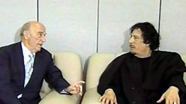 Gaddafi will erneute Entschuldigung von der Schweiz (Archiv)