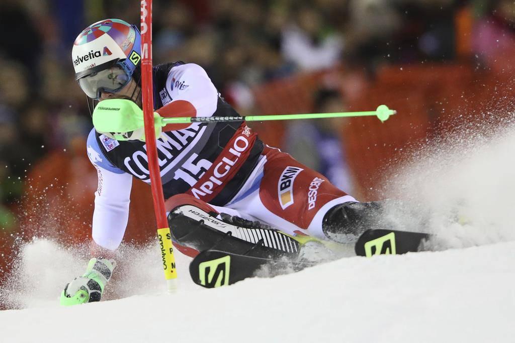 Aernis starke Slalom-Leistung (© Keystone)