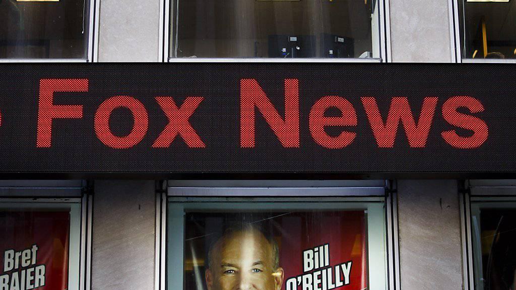 Der US-TV-Sender Fox News steht immer wieder wegen sexueller Belästigung von Mitarbeitenden in der Kritik. (Archivbild)