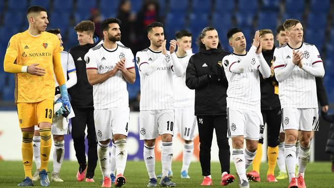 Nach nur zwei Niederlagen in elf Partien verabschiedet sich der FC Basel von der europäischen Bühne.