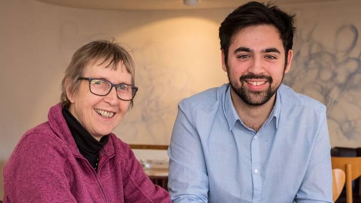 Generationenwechsel im Landrat: Hanni Huggel und Adil Koller