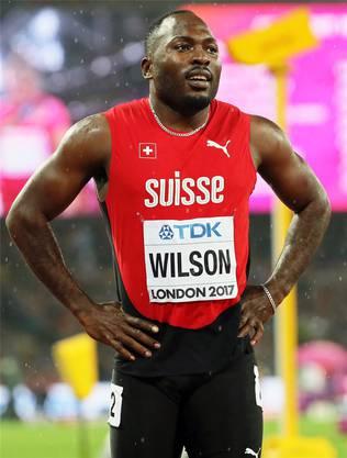 Alex Wilson konnte in London nicht seine Bestleistungen abrufen. key