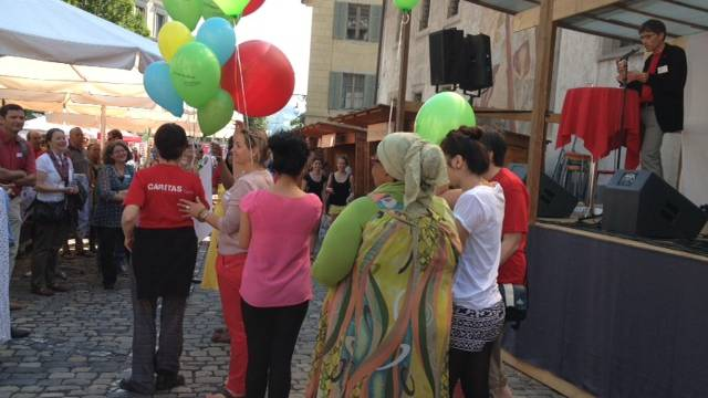 Feier zum Tag des Flüchtlings in Luzern
