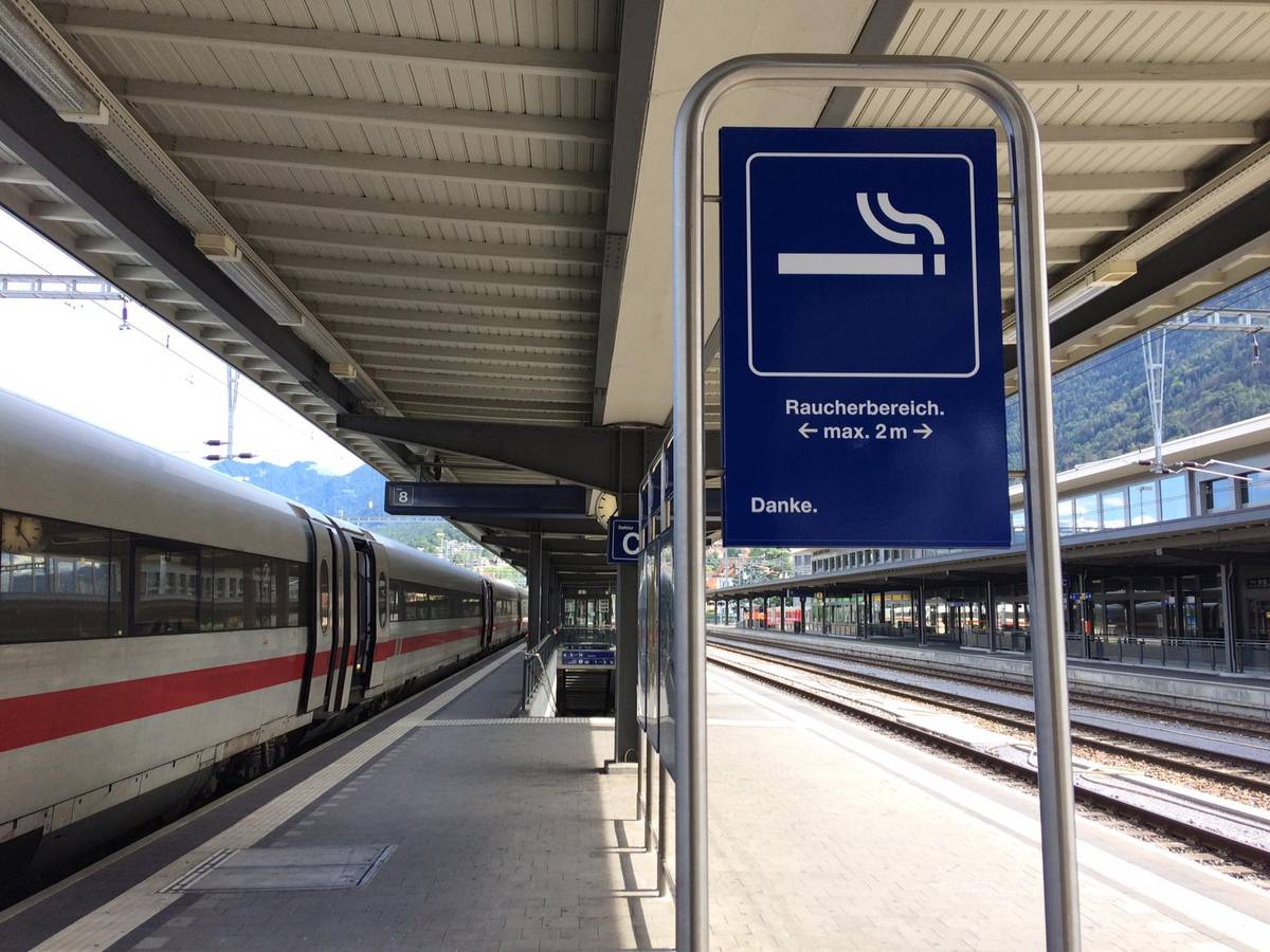 Nebst Chur (im Bild) gilt nun auch in St.Gallen ein Rauchverbot. (© FM1Today)