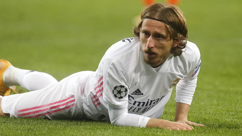 Luka Modric erzielte für Real in Elche das 1:0