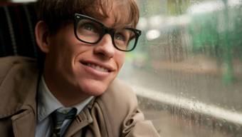 Eddie Redmayne als Stephen Hawking (Pressebild)