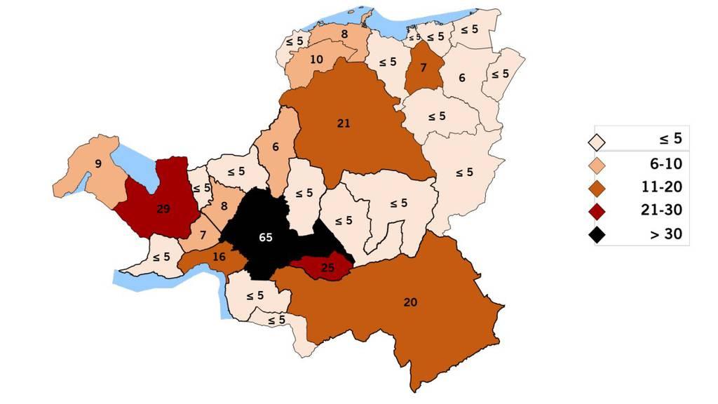 Coronavirus im Kanton Schwyz weiterhin auf Vormarsch