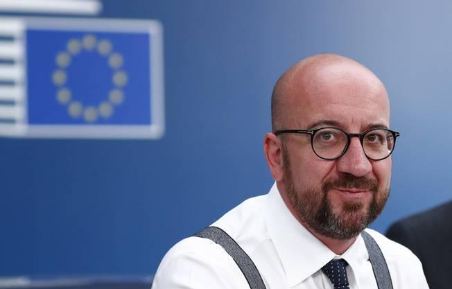 Er soll der nächste EU-Ratspräsident werden: Belgiens Premier Charles Michel.