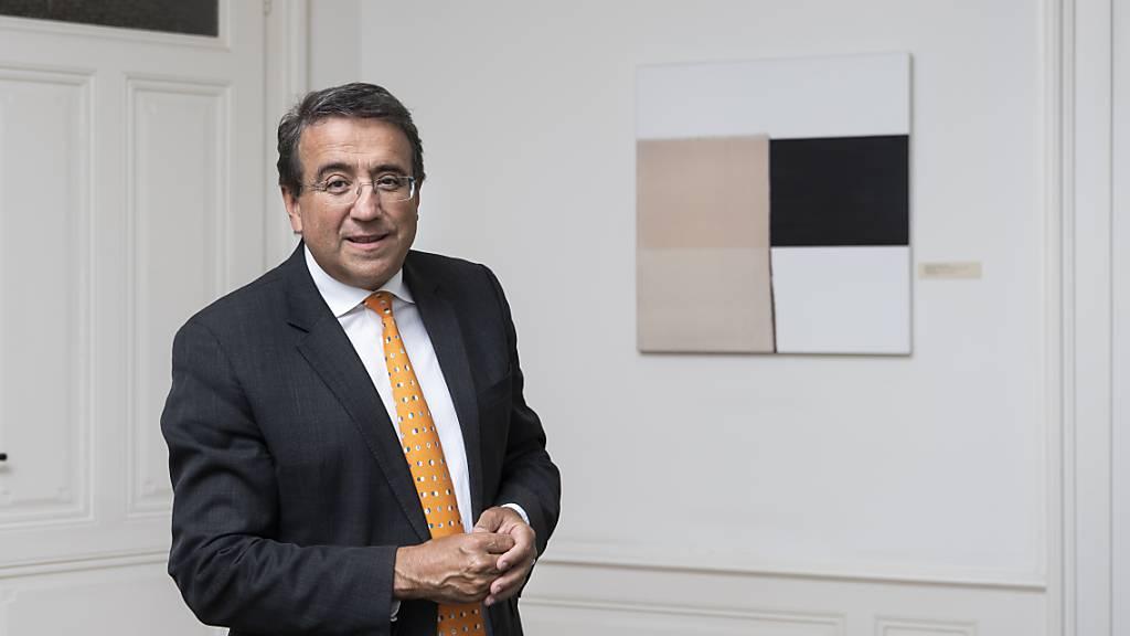 Der Waadtländer Staatsrat Pascal Broulis tritt bei den kommenden Wahlen im März nächsten Jahres nicht mehr an. (Archivbild)