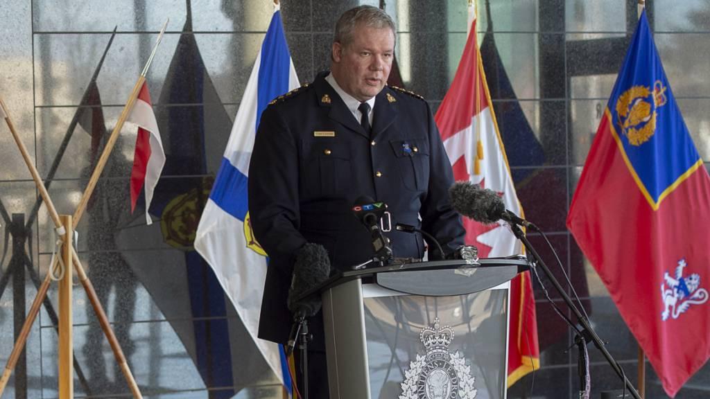 Blutbad mit mehr als 13 Toten in Kanada