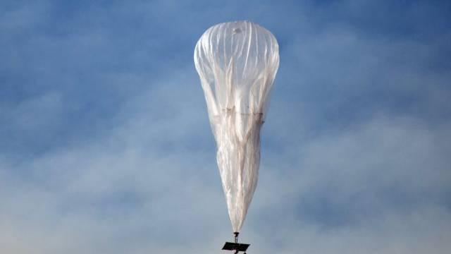 Ein unbemannter Google-Ballon in Neuseeland (Archivbild)