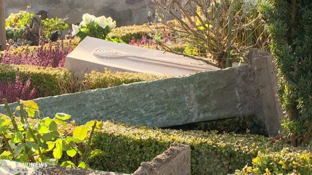 Friedhof Witikon verwüstet