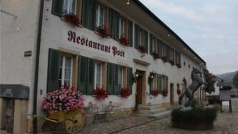 Das Restaurant Post in Bözen ist bei Stammgästen und Feinschmeckern beliebt.