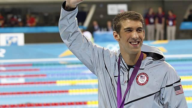 Michael Phelps beendet Karriere mit einer weiteren Goldmedaille.