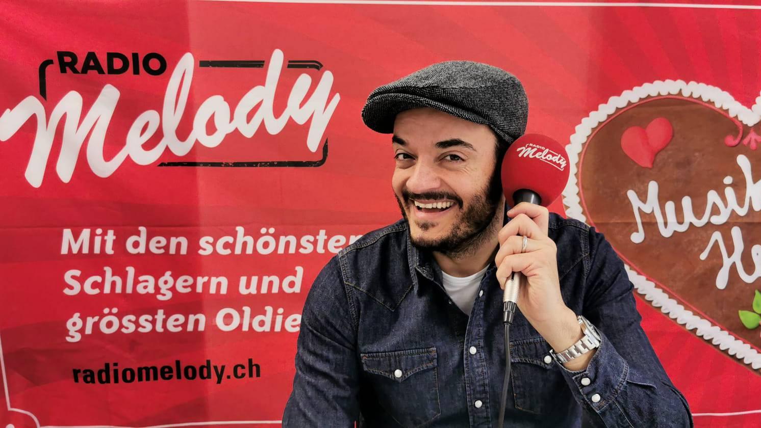 Giovanni Zarrella bei Radio Melody